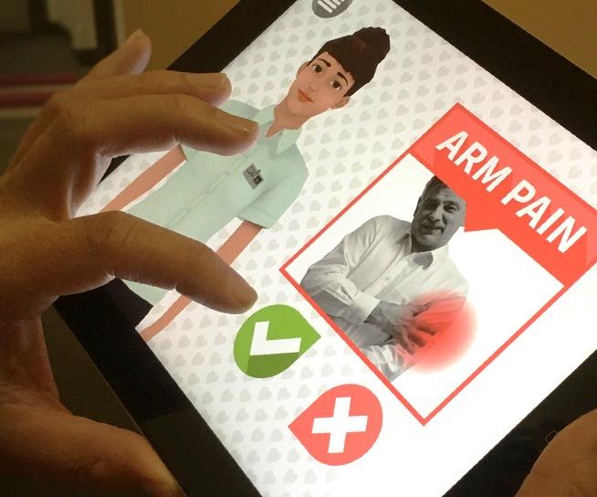 Una enfermera descubre que una aplicación mejora el reconocimiento de los síntomas en los supervivientes de ataque al corazón