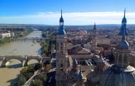 Zaragoza, ocho toneladas de flores para la Virgen del Pilar