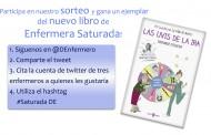 Diario Enfermero sortea 5 ejemplares de Enfermera Saturada en twitter