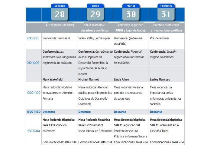 Todos los detalles del programa científico de Barcelona 2017 en la revista Enfermería Facultativa