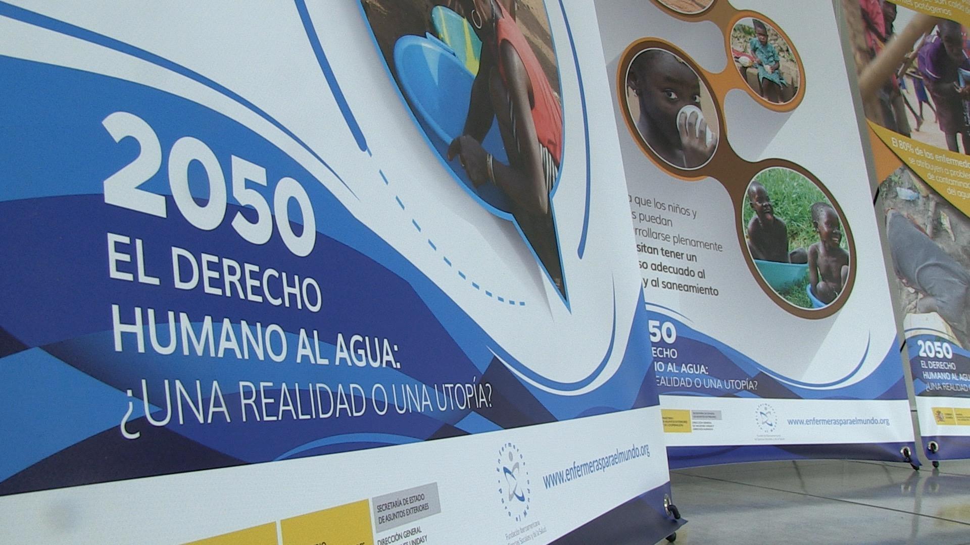 La exposici n 2050 el derecho humano al agua realidad - Utopia madrid ...