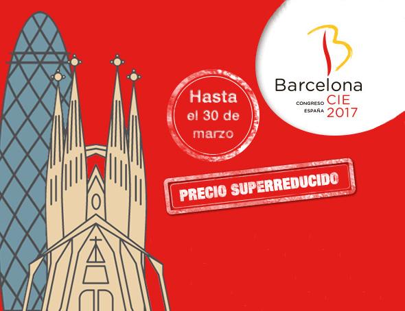 Quedan dos días para disfrutar de los precios reducidos en la inscripción y los hoteles para asistir a Barcelona 2017