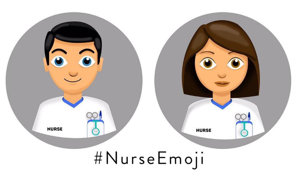 Una campaña en redes sociales solicita el emoticono de la enfermera para whatsapp