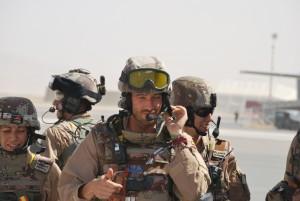 En Afganistán, la evacuación sanitaria moviliza a dos helicópteros