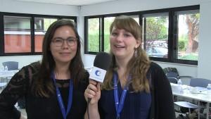 Christina Baltzer y Nina Maagaard (Sygeplejestuderendes Landssammenslutning)