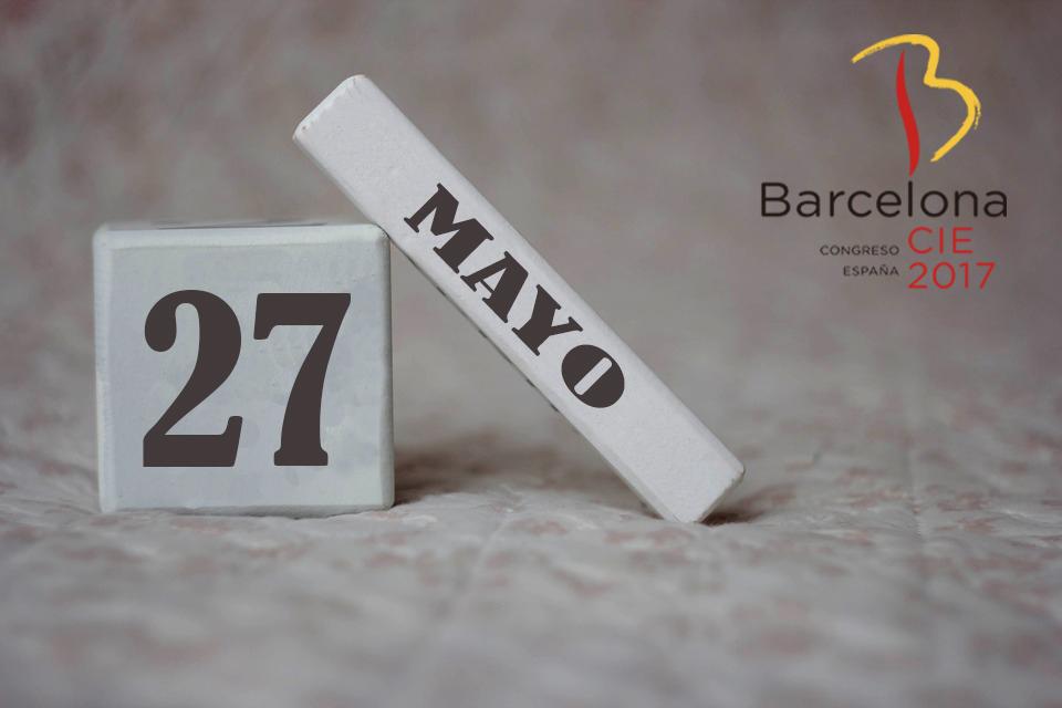 Queda sólo un mes para Barcelona 2017