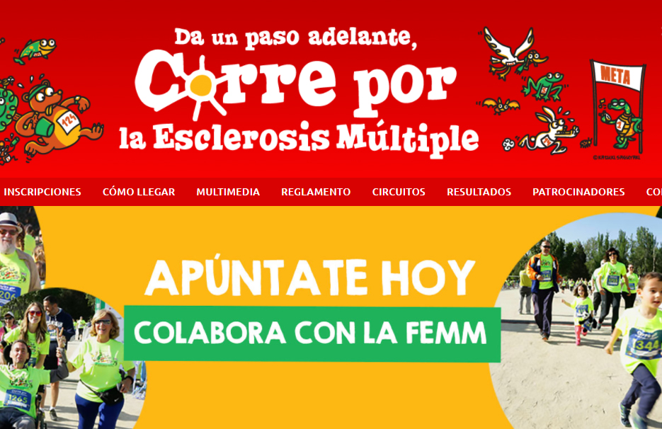 """""""Corre por la Esclerosis Múltiple"""" celebra su séptima edición"""