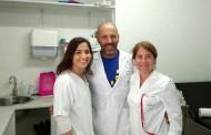 Un enfermero gaditano, récord de comunicaciones en Barcelona