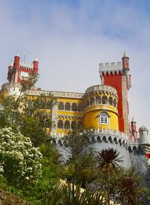 Palacio Da Pena, en Sintra (Portugal). Imagen: David C. Gimeno
