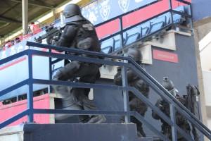GIE Policía Foral Graderio Sur