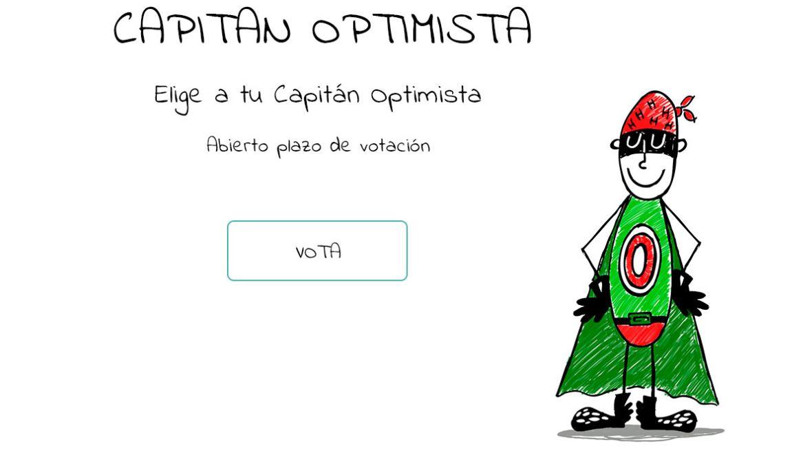 Capitán Optimista, una campaña para visibilizar la labor de los profesionales sanitarios