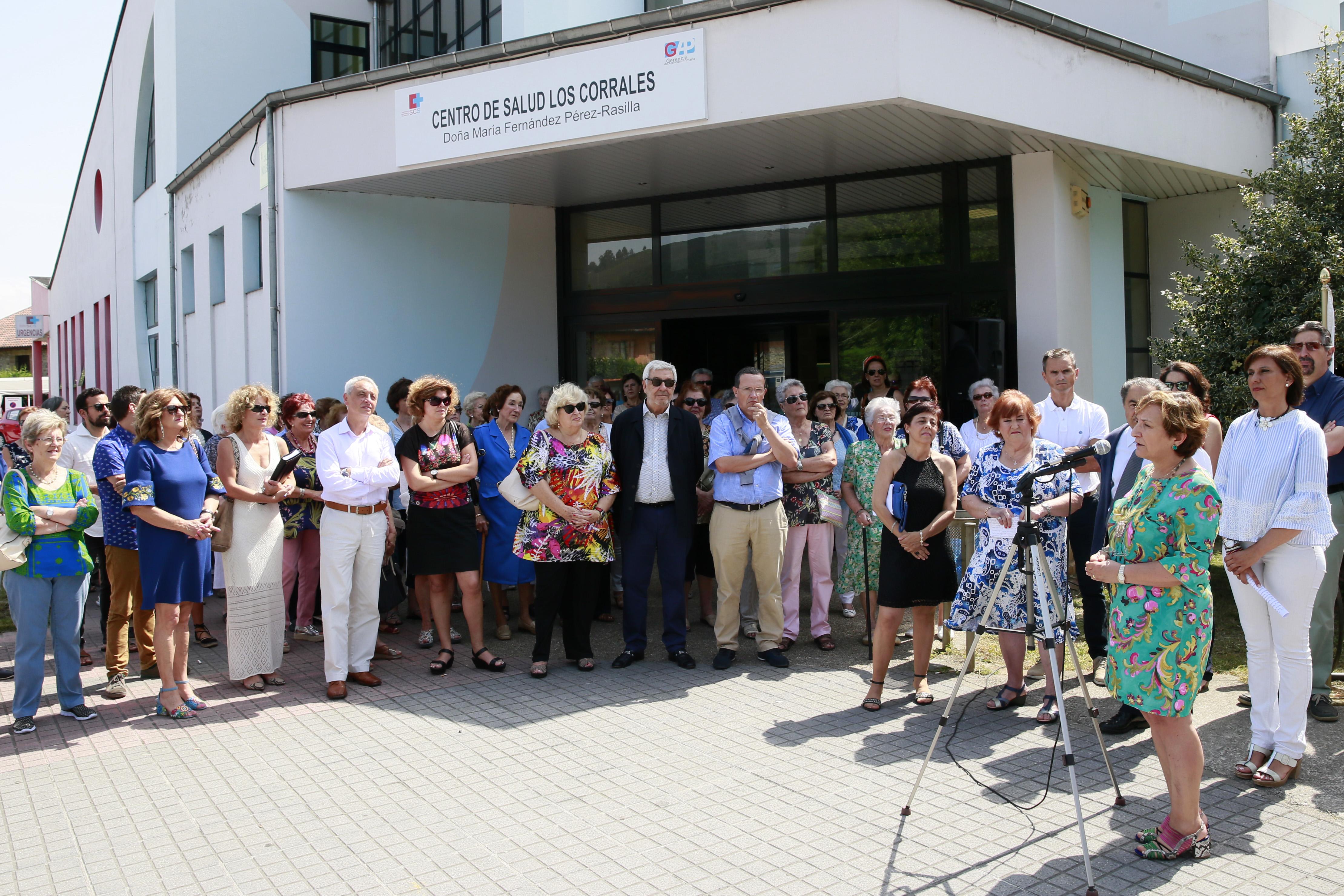 Primer centro de salud en Cantabria que lleva el nombre de una enfermera