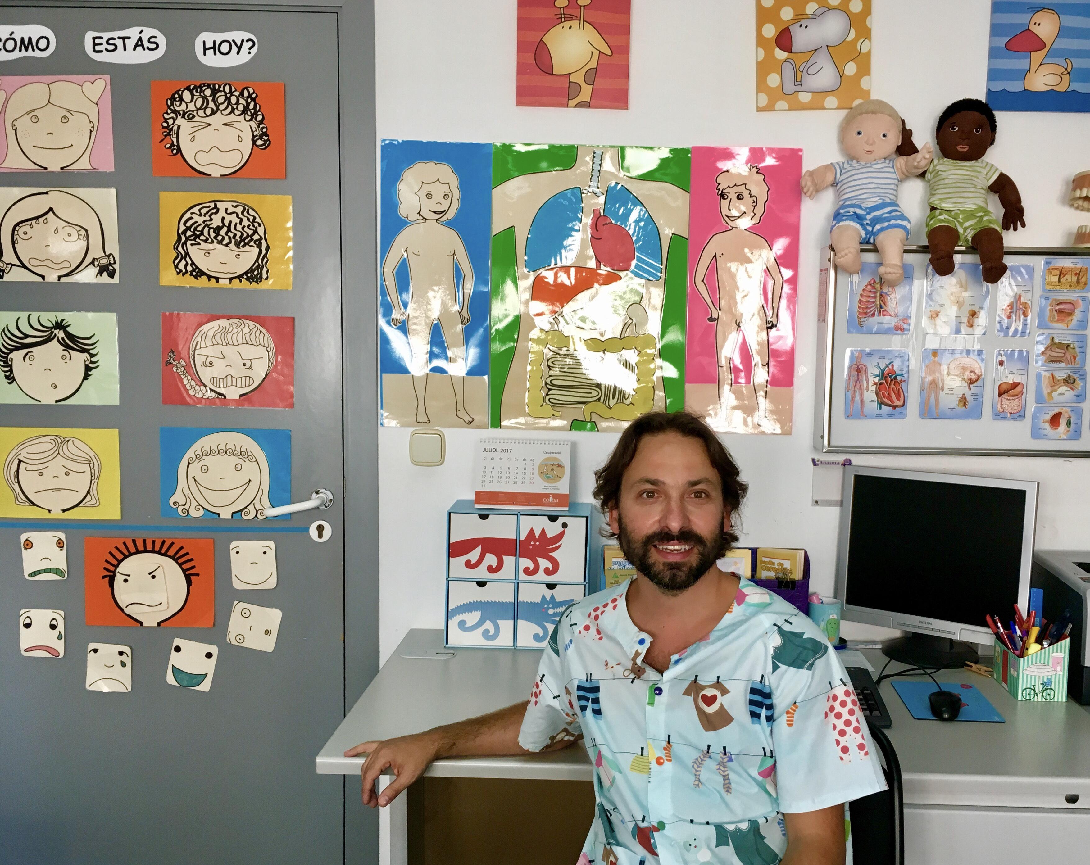 Una consulta de enfermería que hace sonreír a los niños