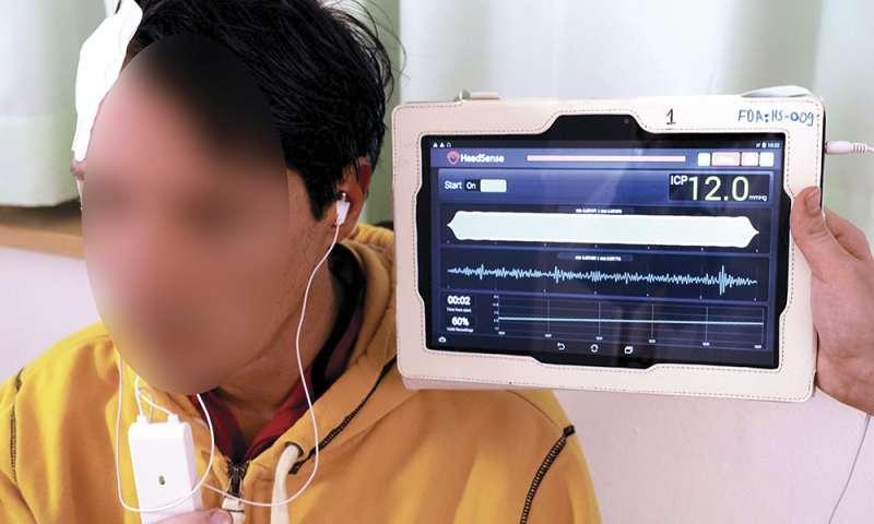 Crean un nuevo método no invasivo de monitorización de la presión intracraneal
