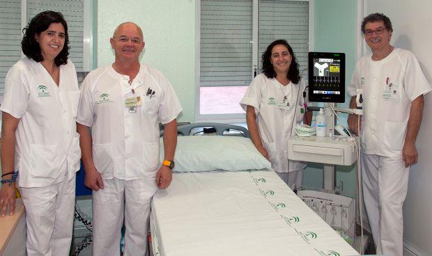 Una consulta enfermera para pacientes que necesiten tratamientos intravenosos de larga duración