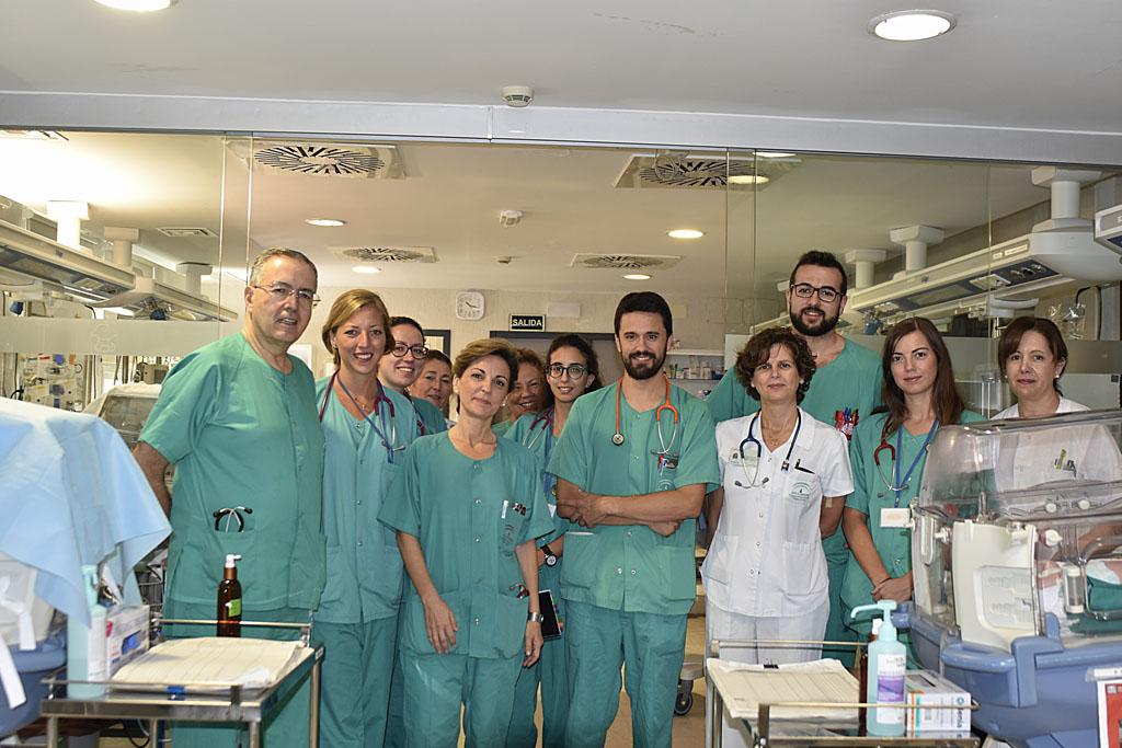 Profesionales del Reina Sofía de Córdoba investigan la prevención de enfermedades con elevada morbimortalidad en prematuros
