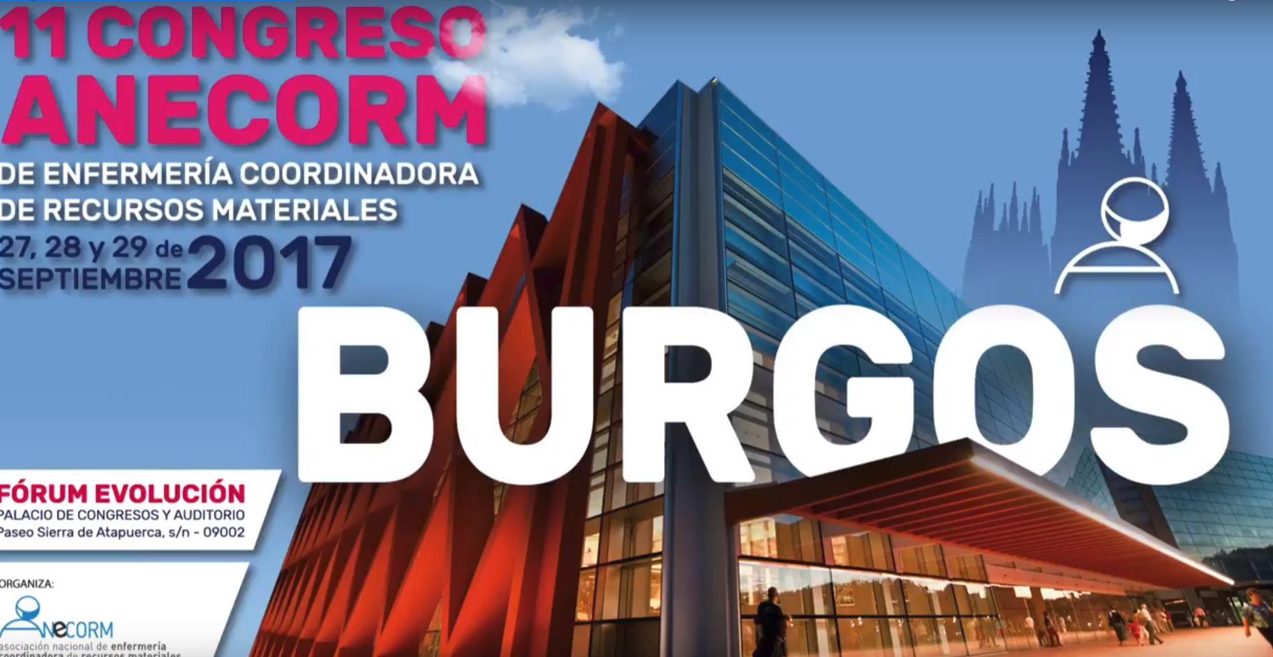 Burgos acoge el congreso nacional de enfermería coordinadora de recursos materiales