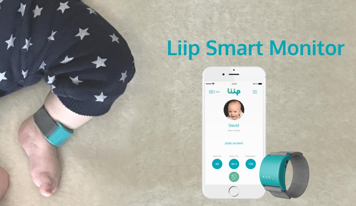 Una pulsera inteligente informa sobre apneas, convulsiones o bronquiolitis de bebés