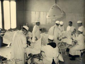 Prácticas en los quirófanos del hospital San Rafael de Madrid