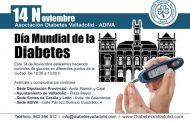 La Asociación de Diabetes de Valladolid y el Colegio de Enfermería realizarán hoy controles de glucemia gratis