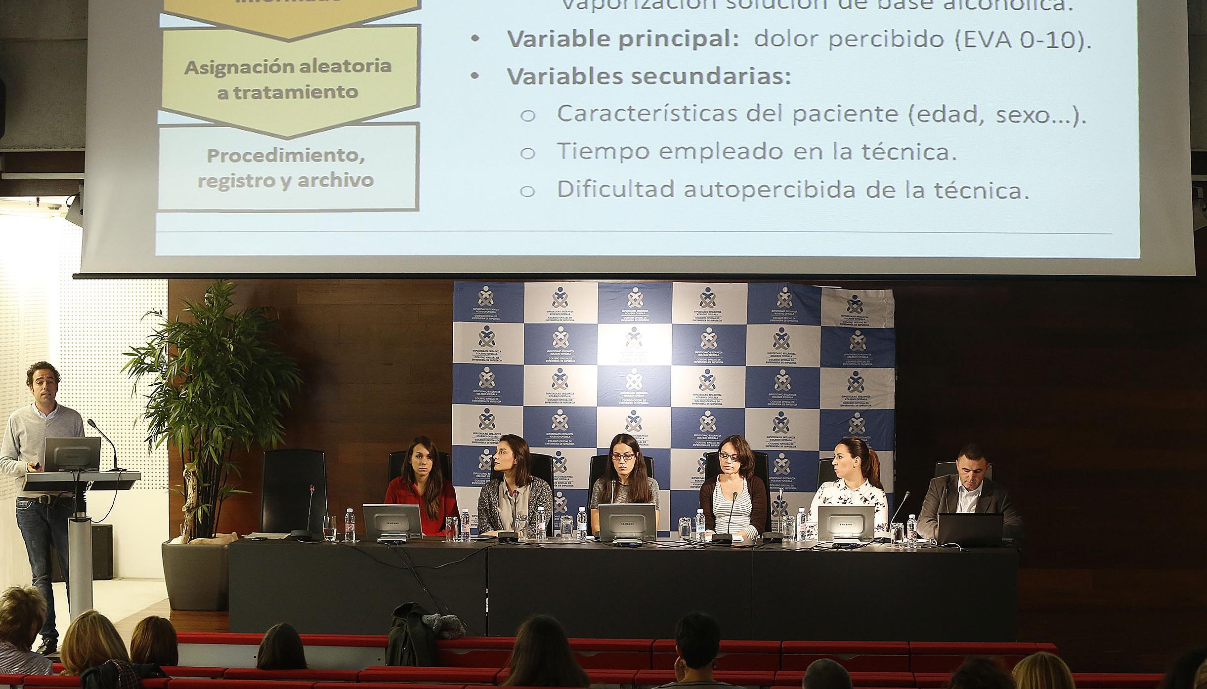 El Colegio de Enfermería de Guipúzcoa organiza la jornada sobre investigación enfermera