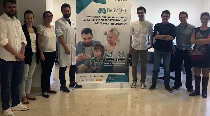 Lanzan una aplicación móvil que permite a los padres medir la dificultad respiratoria de sus hijos