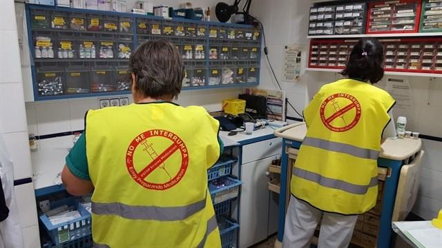 #StopErroresMedicación, una campaña del hospital Punta de Europa (Algeciras) para mejorar la seguridad en la preparación de fármacos
