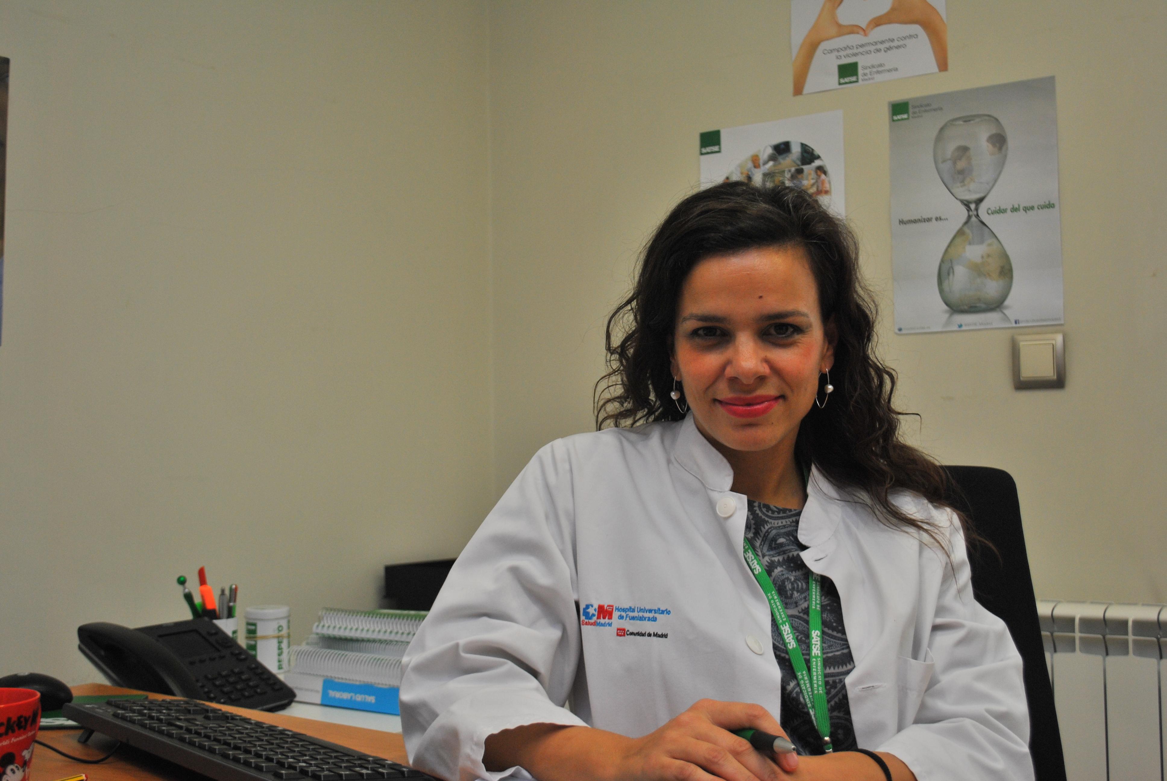 """Verónica Díaz: """"Los enfermeros deben implicarse en su propia salud laboral"""""""