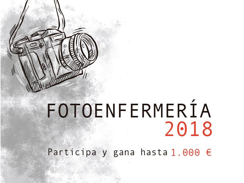 Finalistas de FotoEnfermería 2018, un año en imágenes