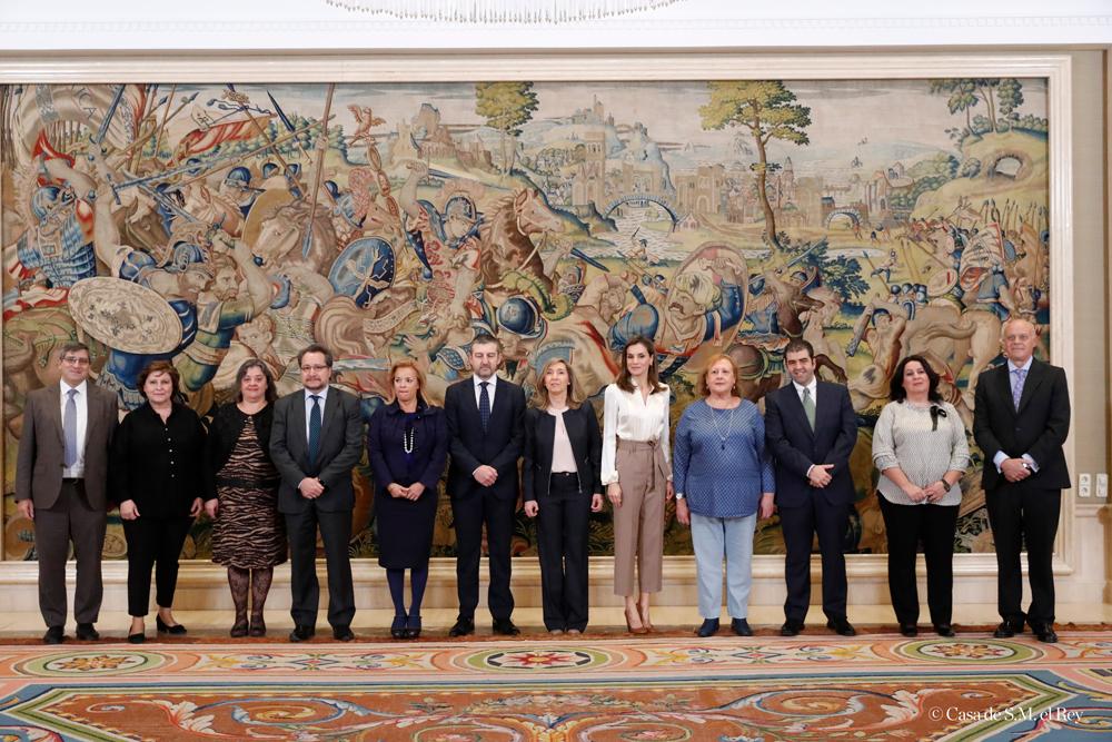 La Reina recibe al Foro Español de Pacientes para tratar la desnutrición relacionada con la enfermedad