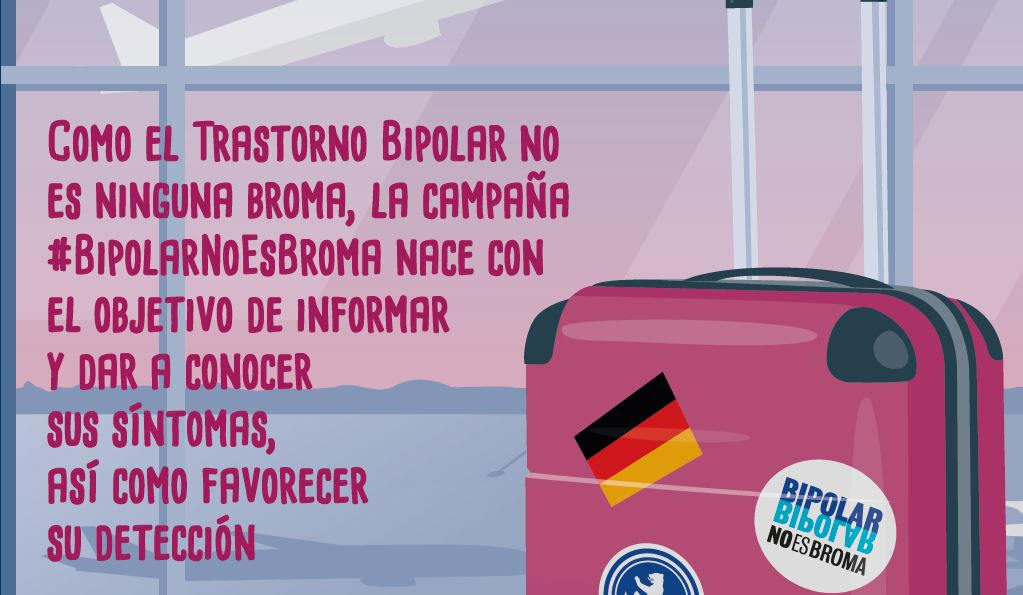 La campaña #BipolarNoEsBroma pretende concienciar a los más jóvenes sobre esta enfermedad