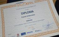 Canal Enfermero recoge el diploma de finalista en los premios SaluDigital 2018