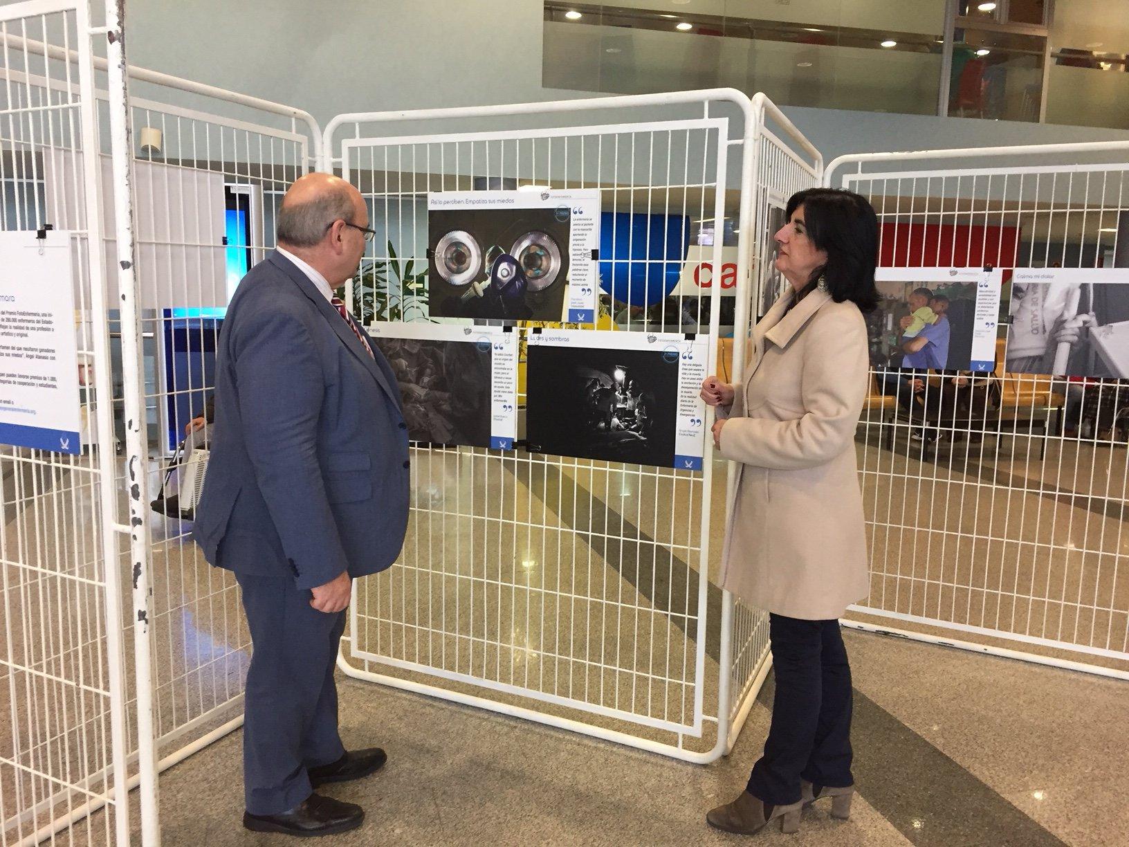 El Hospital San Pedro de Alcántara de Cáceres estrena la exposición FotoEnfermería