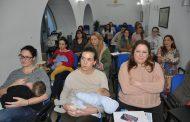 Un taller sobre lactancia materna para enfermeras