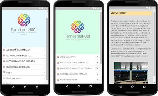 Una app para familiares de pacientes