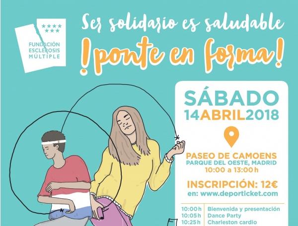 Deporte solidario a favor de la Fundación Esclerosis Múltiple de Madrid