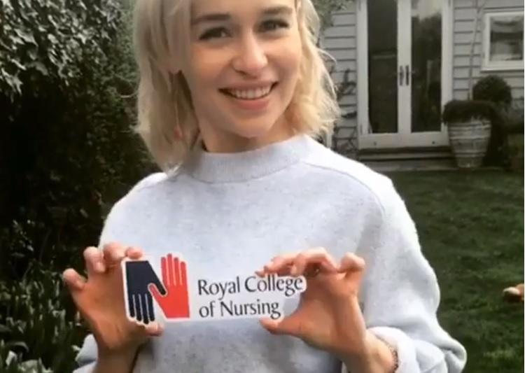 Las enfermeras británicas eligen a la Reina de Dragones, de <i>Juego de tronos</i>, como embajadora