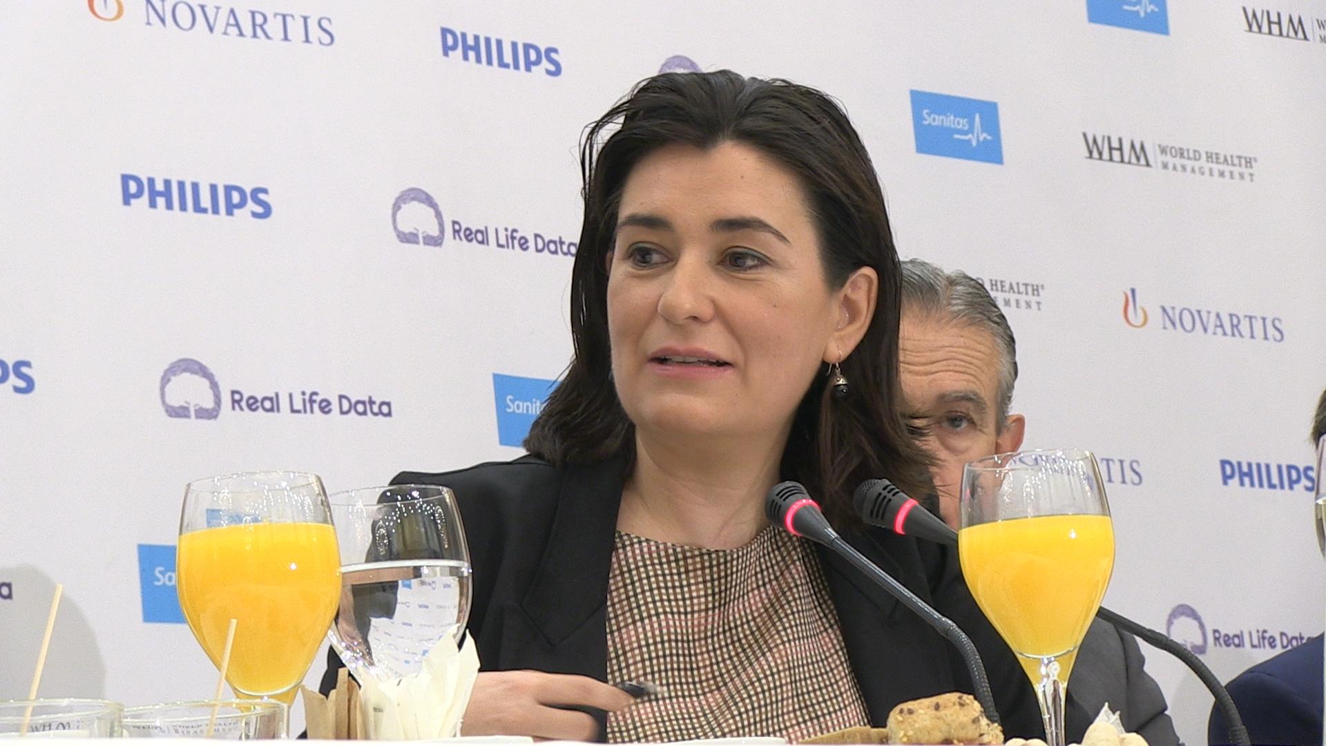 Montón traslada a los socios de la UE la recuperación de la universalidad en la sanidad pública