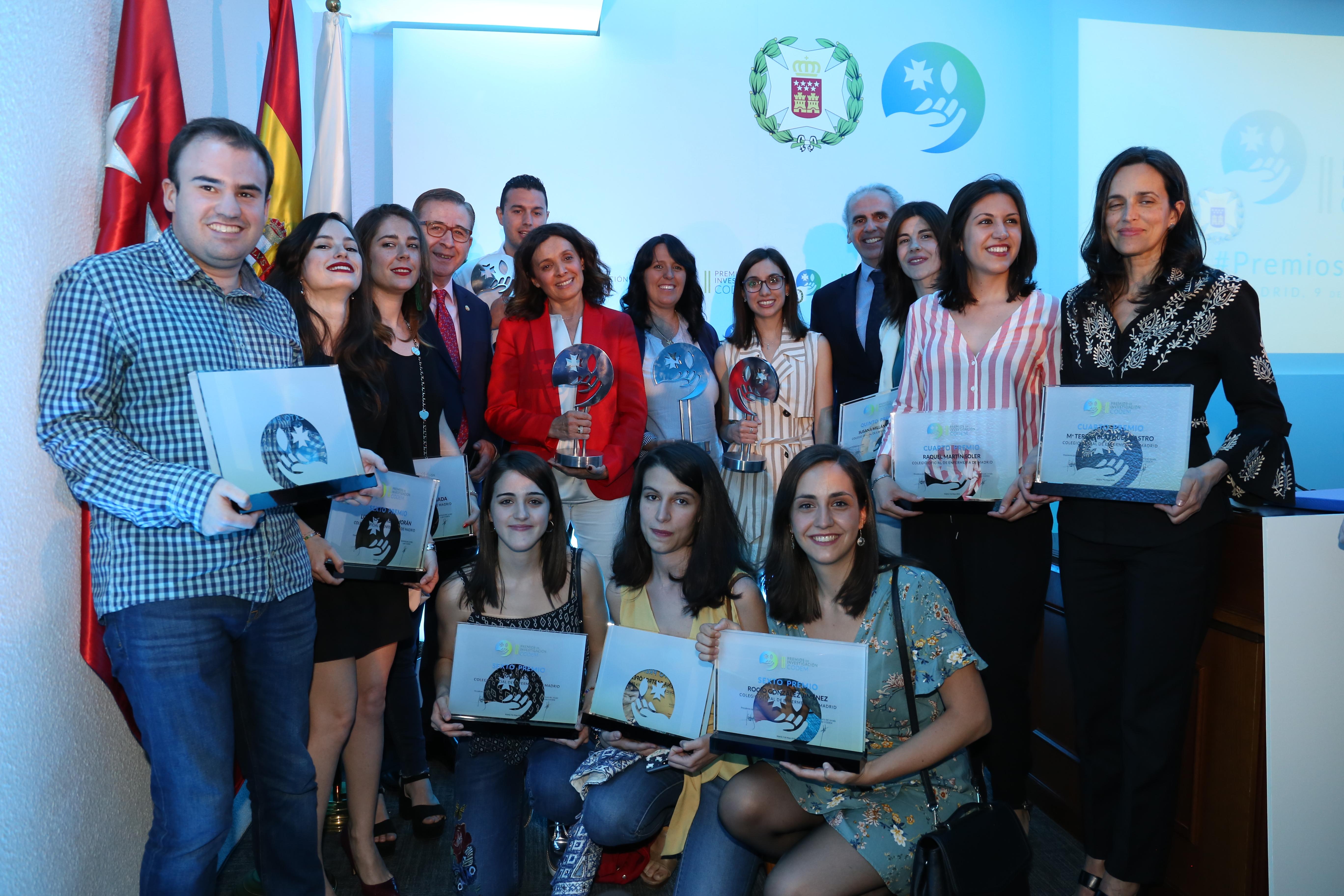 Los premios del Codem reconocen a siete investigaciones madrileñas