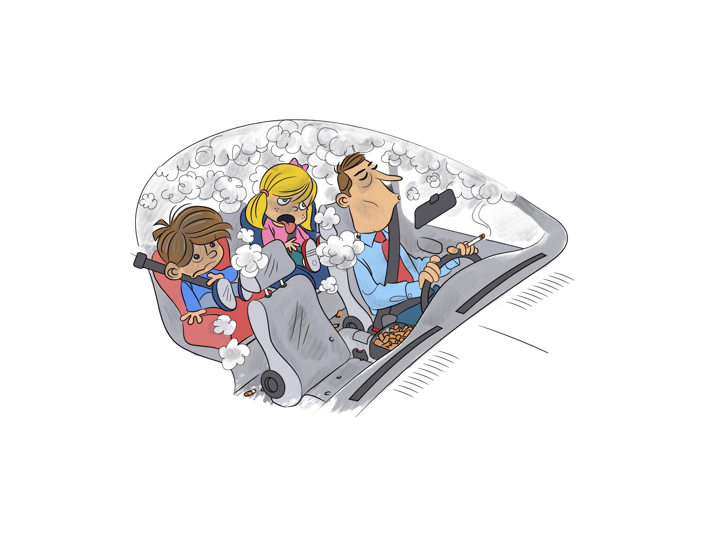 El Ministerio presenta un documento a las autonomías para prohibir fumar en el coche