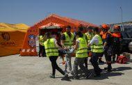 Simulacro EICS: terroristas se atrincheran con rehenes heridos