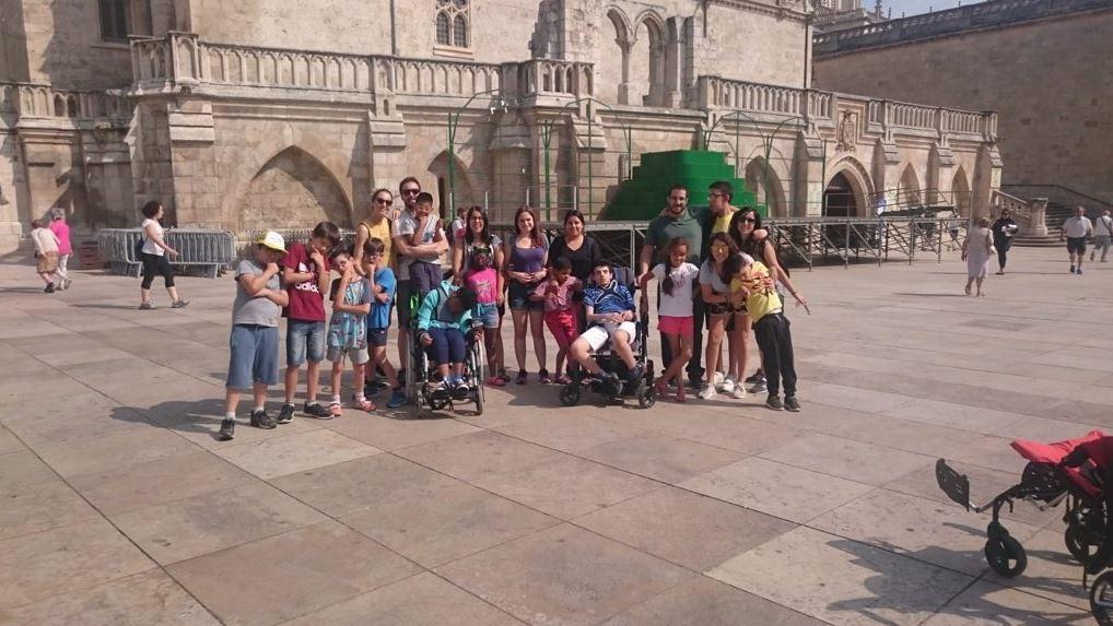 Una jornada lúdica reflexiva en Burgos para dar protagonismo a los niños con enfermedades poco frecuentes