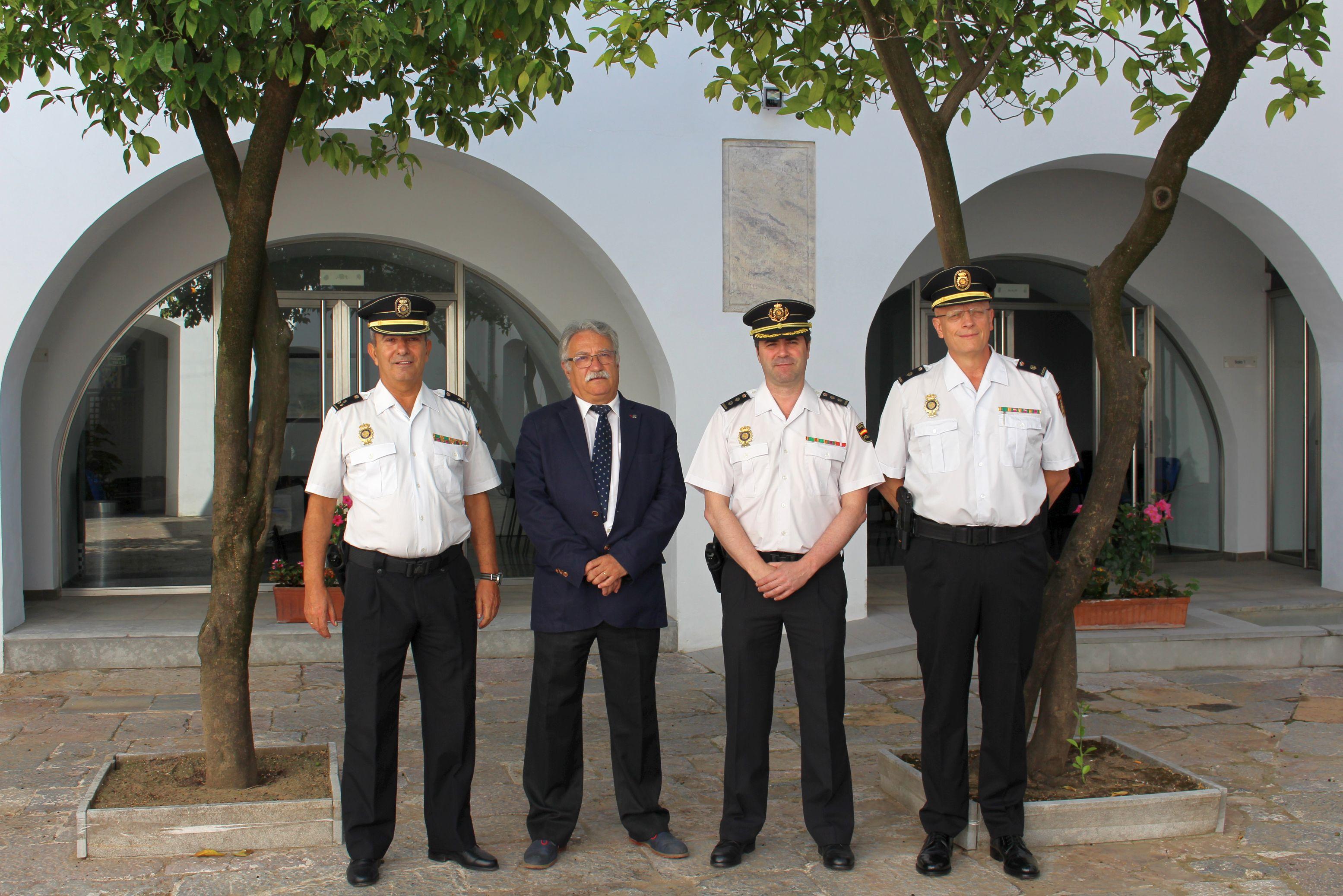 El Colegio de Enfermería de Córdoba acoge una reunión con la Policía Nacional para prevenir las agresiones a enfermeras