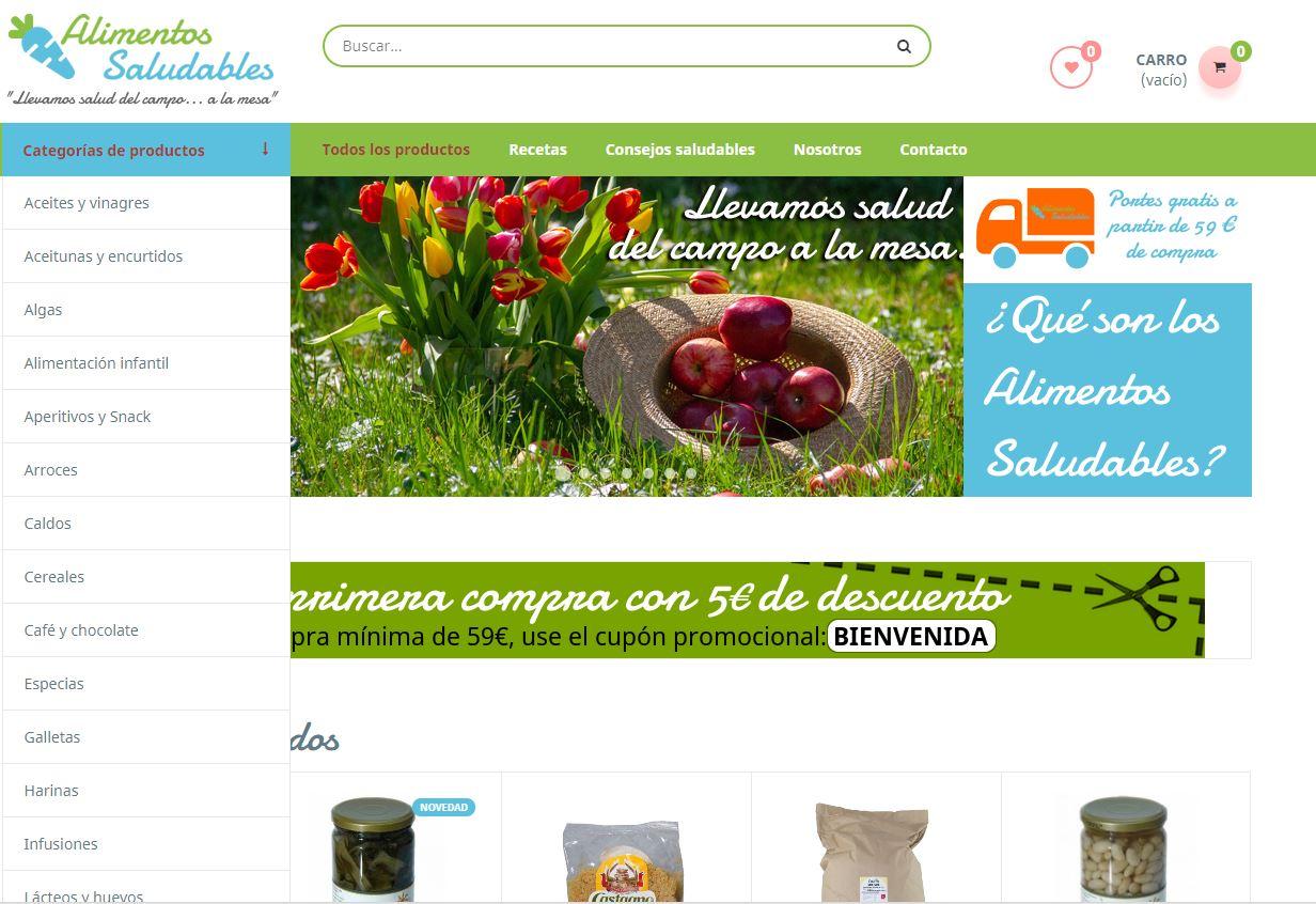 Nace una plataforma online de productos ecológicos con descuento especial a enfermeras