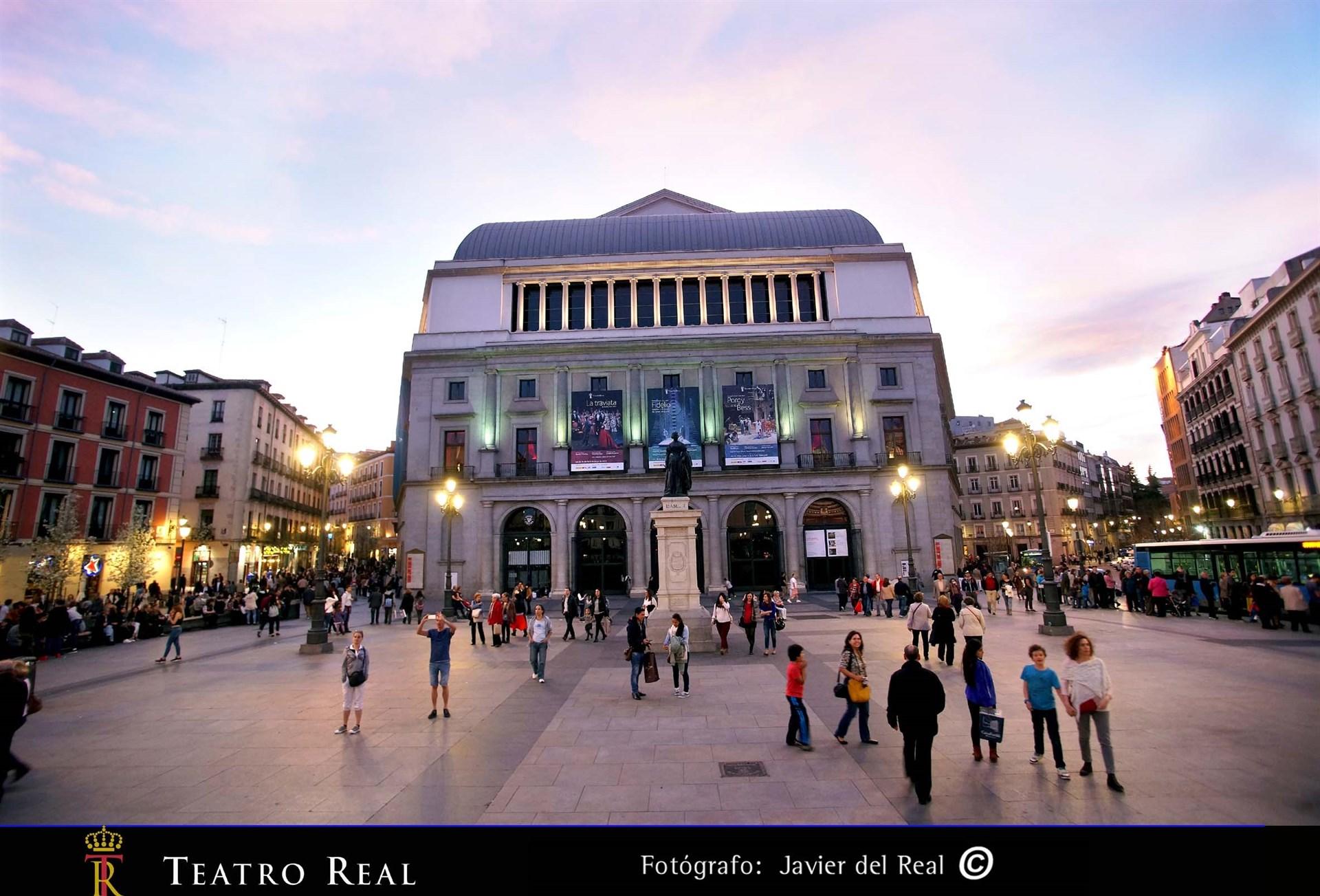 El Teatro Real se une a la campaña