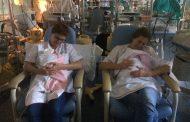Enfermeras jubiladas aplican el método canguro en el Hospital Clínic de Barcelona