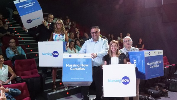 """Canarias, primera comunidad autónoma en sumarse a la campaña """"Nursing Now"""" del CIE"""