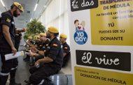 El Centro de Transfusión y la UME fomentan la donación de médula con el #ProyectoUMEdula