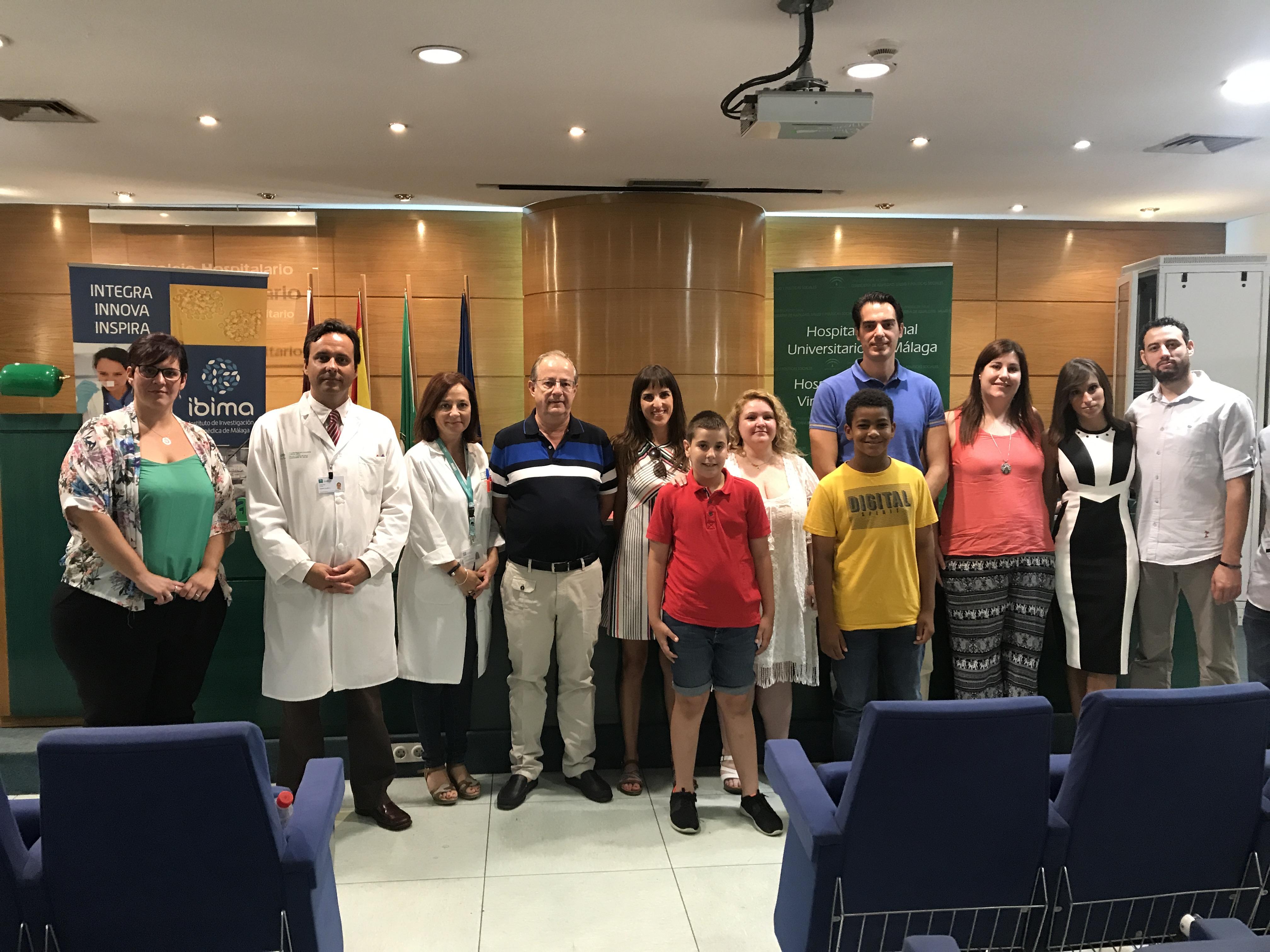 Más de 130 menores mejoran sus niveles lipídicos y glicémicos gracias a un proyecto del Regional de Málaga