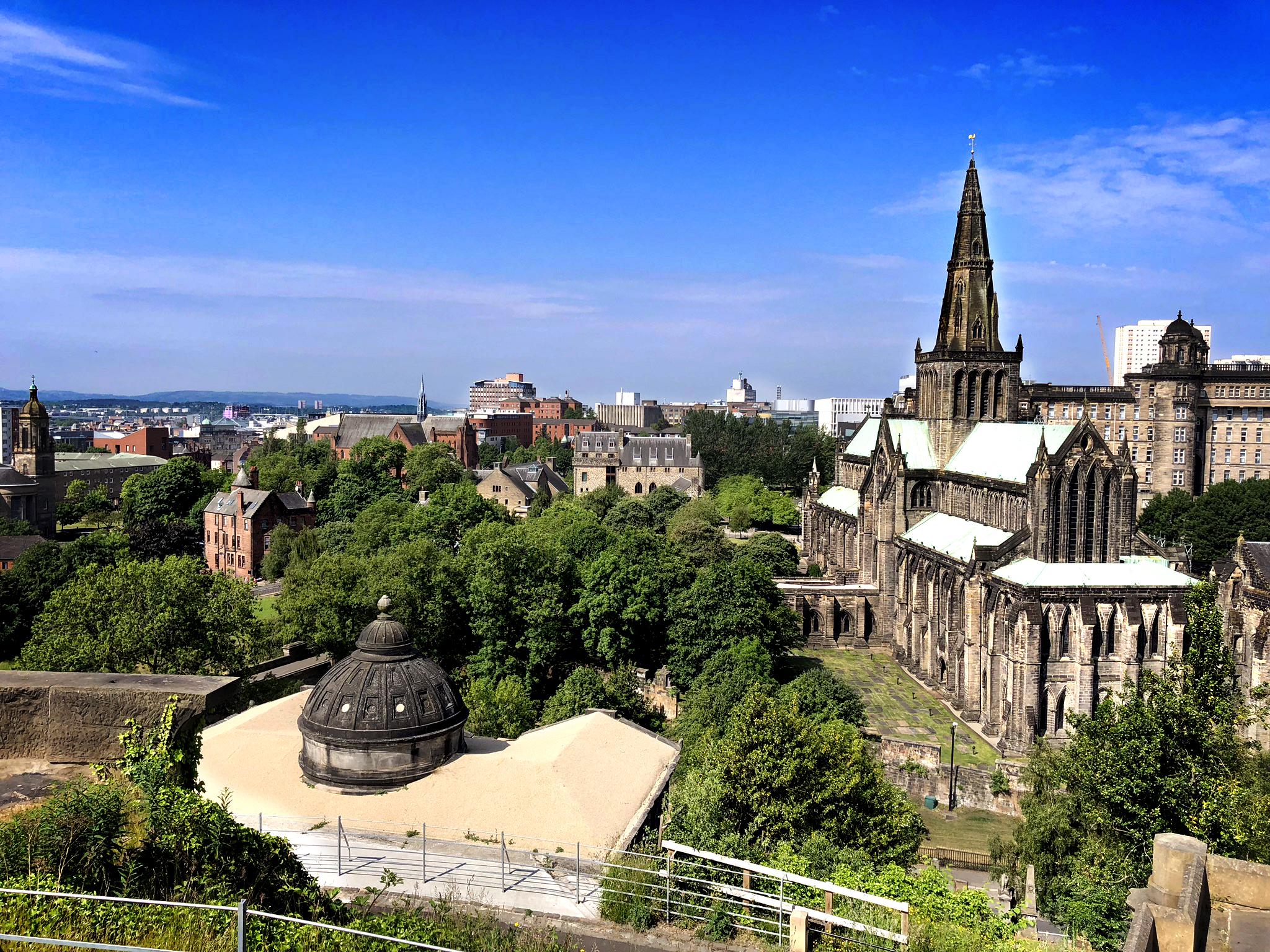 Glasgow, la ciudad escocesa con uno de los cementerios más espectaculares